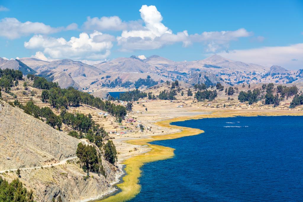 Lake Titicaca(Titicaca Gölü)