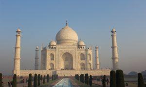 Aşkın Etkileyici Türbesi Taj Mahal; Agra