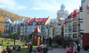 Quebec eyaletinin kayak merkezi; Mont Tremblant