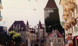 Alp Dağlarının Eteklerinde; Lozan (Lausanne)