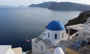 Romantizm Adası; Santorini
