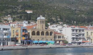 Zümrüt Yeşili Ormanlar ve Masmavi Denizi ile Samos (Sisam) Adası