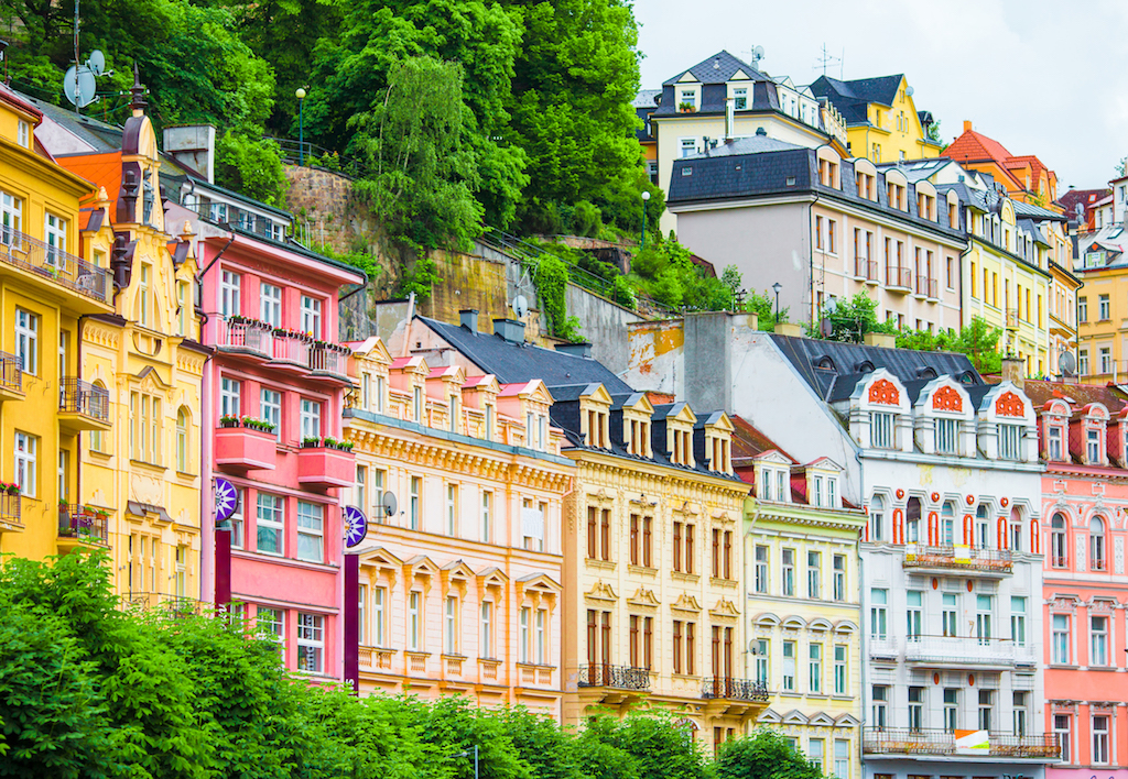 Karlovy Vary evleri