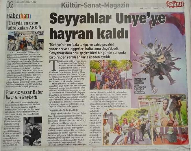 Blogger Yaprak Gürdal dergi ve gazete yayınları