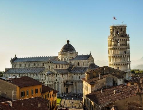 Pisa & Ünü Dünyaya Taşan Eğik Kulesi