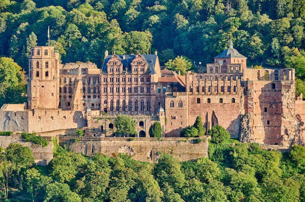 Heidelberg Schloss (Kale)