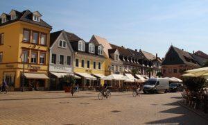 Ren Nehri Kıyısındaki Speyer ve Mannheim