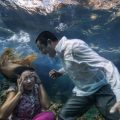 """Nejdet Demirtaş'ın su altı fotoğrafları ile dünya sorunlarına """"derin"""" bir bakış"""