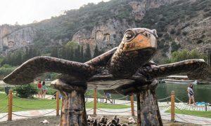Caretta carettalar, Kral mezarları, eşsiz doğa: Dalyan