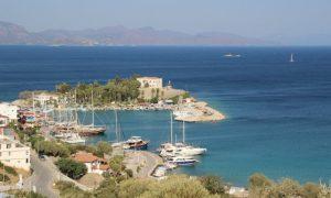 Ege ve Akdeniz'in buluştuğu yer; Datça