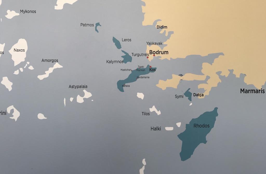 Bodrum'dan hangi Yunan adalarına gidilir