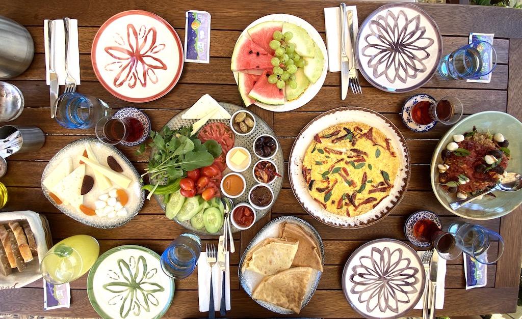 Bodrum kahvaltı mekânları