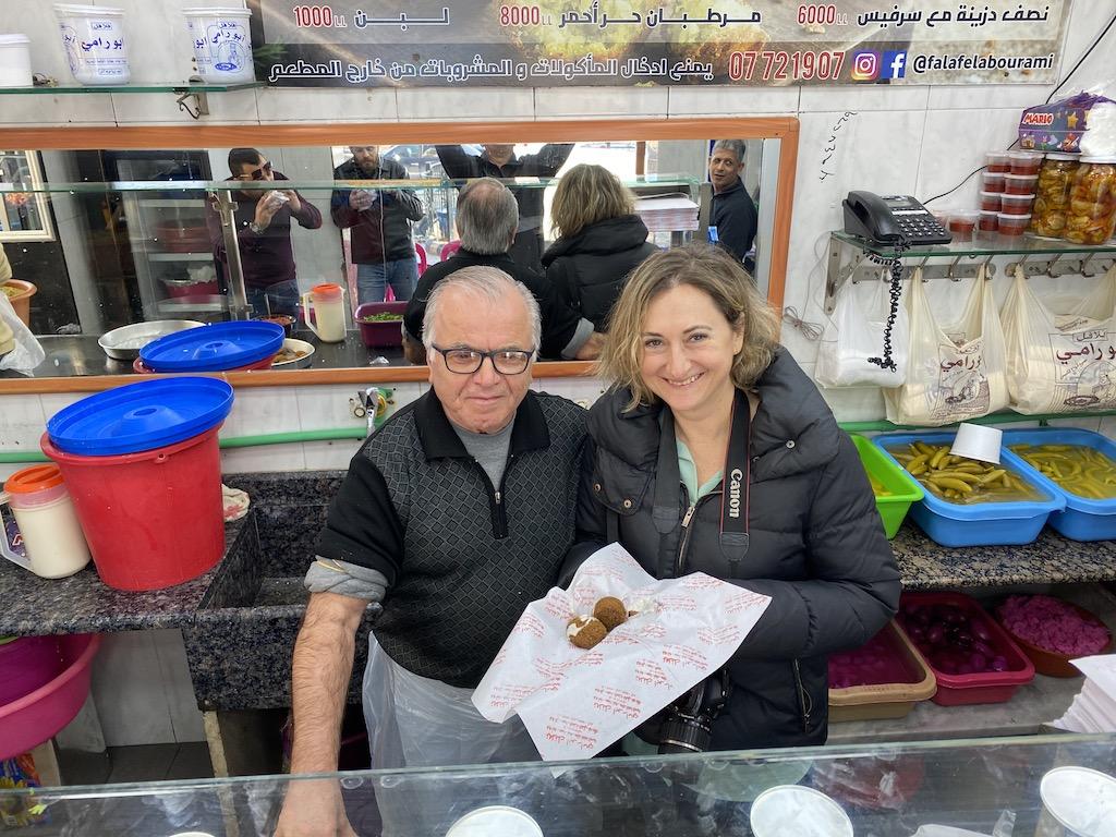 Lübnan Falafel Abou Rami | Küçük Dünya Gezi Rehberi