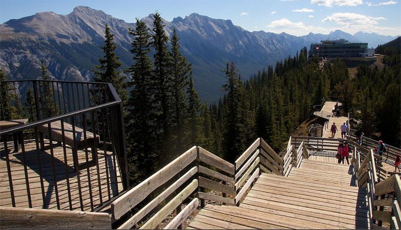 banff kükürt dağı