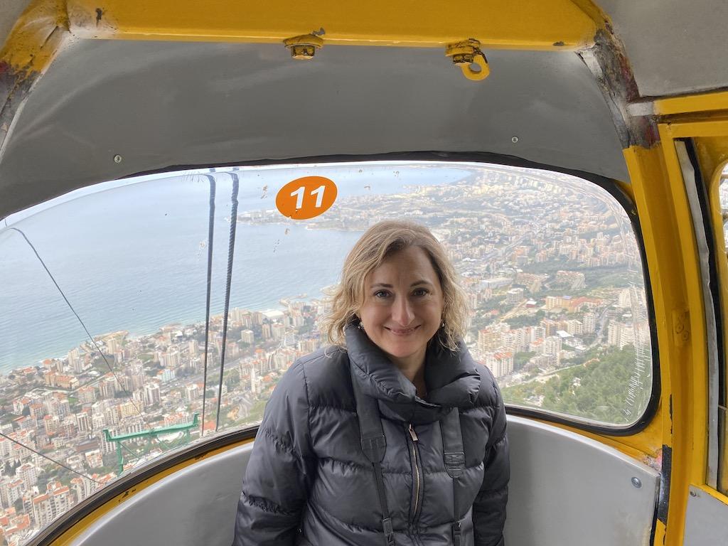 Lübnan Harissa - Jounieh arasında teleferik | Küçük Dünya Gezi Rehberi