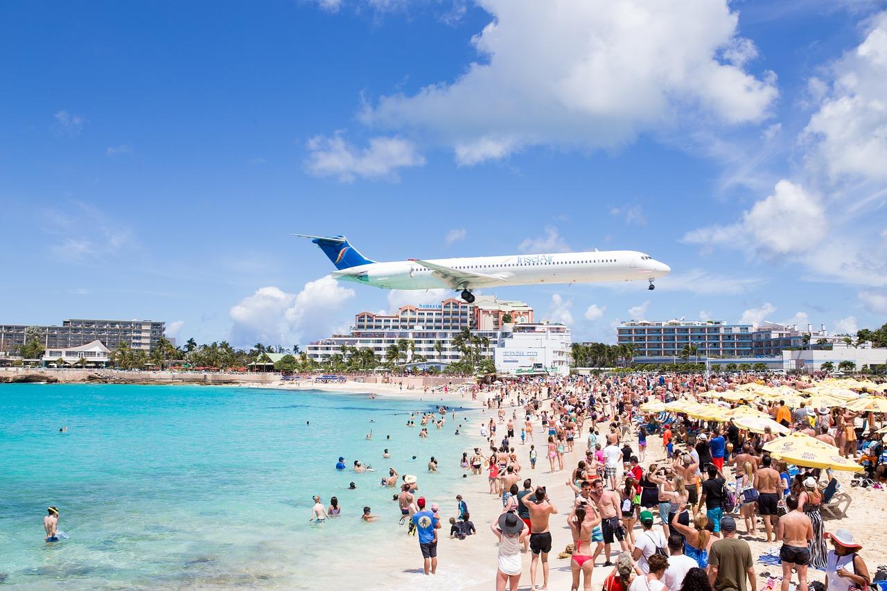 Saint Martin - Sint Maarten - Maho Beach